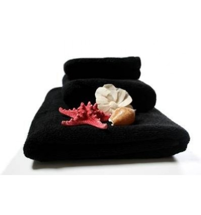 Ręcznik Deluxe Black 30x50 cm