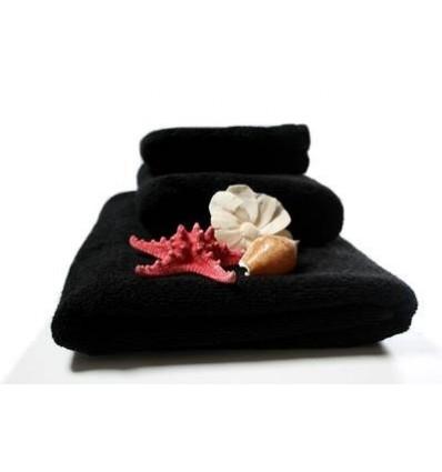 Ręcznik Deluxe Black 50x90 cm