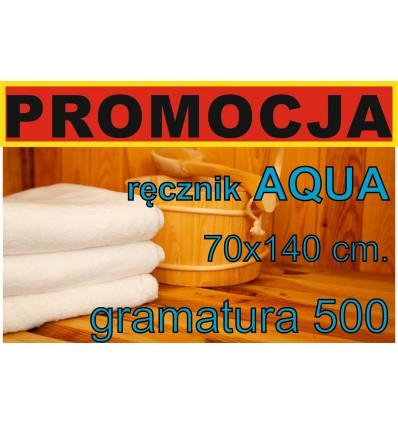 Ręcznik HOTELOWY, 70x140 AQUA