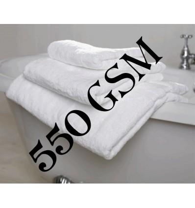 Ręcznik HOTELOWY biały, Deluxe 550