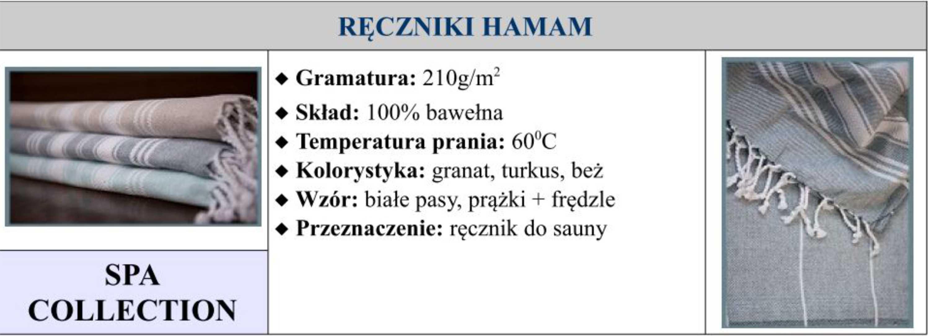 Ręczniki HAMAM